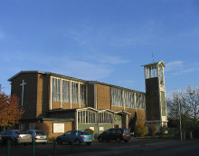 Basildon, The church of 'St. Basil the Great', Essex © John Winfield
